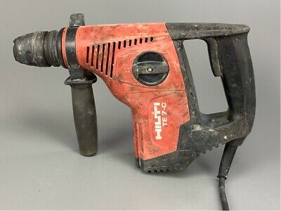 Hilti Te 7-c Corded Rotary Hammer Drillchisel With 13 Bits Included