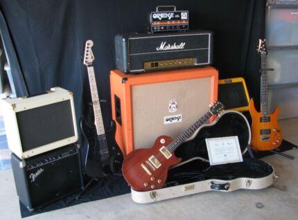 Gibson, Marshall, Orange, Charvel, Fender guitars & amps Camden Camden Area Preview