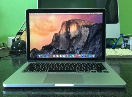 Retina Macbook Pro 13-inch 2.4G intel i5 quadcore 4G Ram 128G SSD Rockdale Rockdale Area Preview