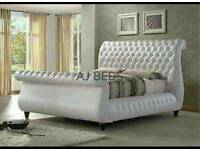 New leather Swan bed all sizes