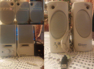 ZoltriXound ZX-75, USB AOpen MS-510 & SOUND FORCE 505 SPEAKERS
