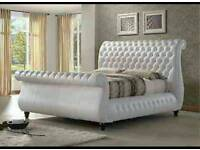 New leather Swan bed in all sizes