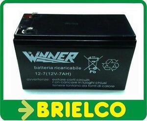 Bateria de plomo 12v 7a hermetica sin conservacion paneles for Baterias placas solares