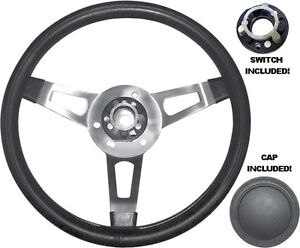 Mopar Tuff Steering Wheel with Cap and Functioning Switch Assembly BLEMISHED
