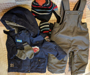 Cars Snow suit 6-12 months