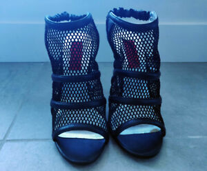 Brand new black mesh heels from Town Shoes (never worn)