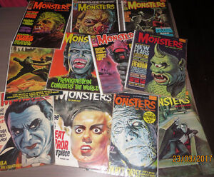 MAGAZINES FAMOUS MONSTERS OF FILMLAND A VENDRE