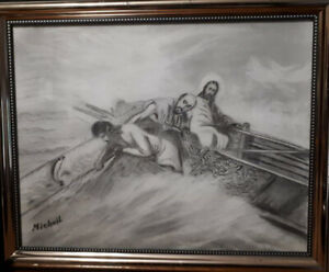 Jesus Miracle Catch of Fish