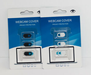 Sliding, Privacy Webcam Covers for Laptops and Mobile Devices