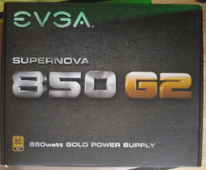 EVGA SuperNOVA 850 G2 80+ GOLD 850W Fully Modular