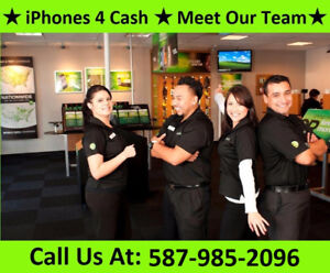 CASH FOR YOUR IPHONES 6 6S 6S PLUS, IPADS AND MACBOOKS!