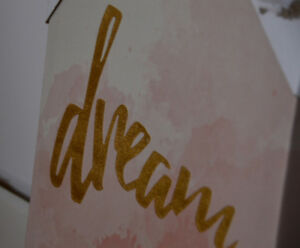 """Dream"" Wall Canvas Art"