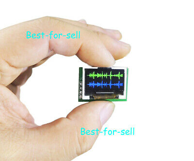 0.96 Ips Color Music Spectrum Display Analyzer Rhythm Vu Audio Level Indicator