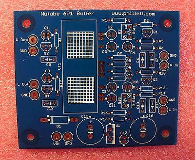 DIY PCB only - Buffer PCB using the Korg Nutube 6P1