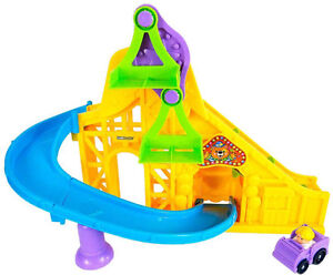 La Piste enchantée Wheelies Little People Fisher Price
