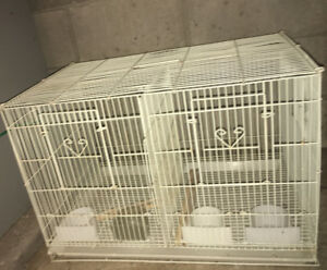 White breeding cage