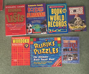World Records / Trivia / Puzzle Books for Youth