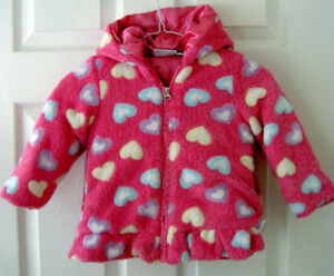 Girls winter jacket and snow pants.  Size 24m / 2T