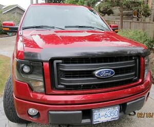 2013 Ford FX4 4WD Ruby Red Supercrew Cab–44,290 Km. Immaculate