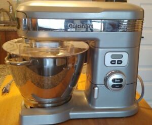CUISINART 5-1/2-QUART 12-SPEED STAND MIXER, BRUSHED CHROME SM-55