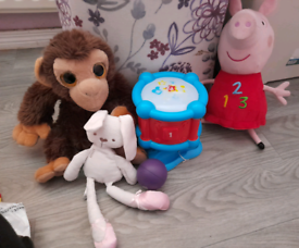 Free toddler toy bundle and couple of barbies collection antrim