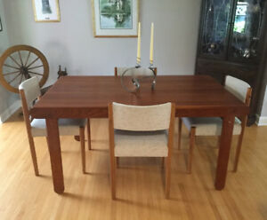 TEAK Mid Century dining room set