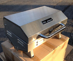 MARINE BBQ, NEW, PROPANE STAINLESS STEEL, STILL IN BOXES
