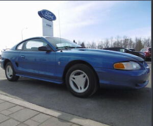 1995 Mustang 3.8 V6 Rust Free.  Trades welcome