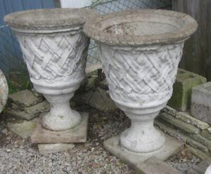 Flower Pots - Cement