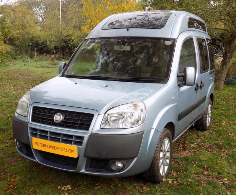 Fiat Doblo Dynamic Camper Conversion In Congleton