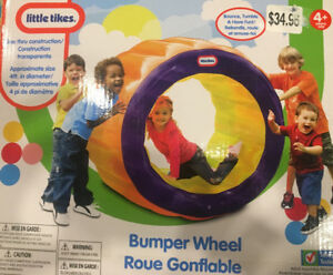 LITTLE TIKES INFLATABLE BUMPER WHEEL BRAND NEW