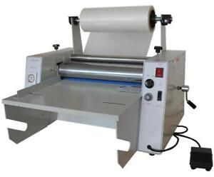 Open Box 15Inch Steel Roller Thermal Laminator 110V 120006