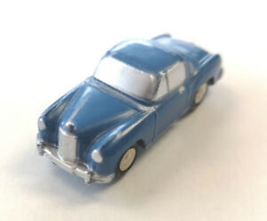 Schuco Piccolo No 717 Mercedes 220 Blue Diecast Toy Car
