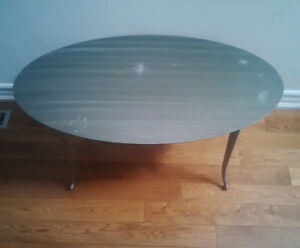 Wrought Iron solid coffee table