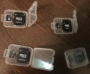 New sd memory cards