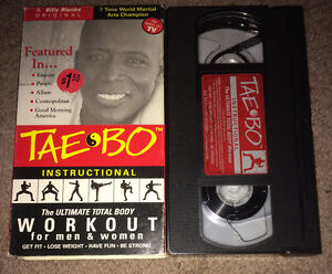 Tae Bo Billy Blanks Ultimate Body Workout VHS Exercise Tape
