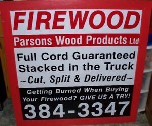 Cut Spit & Delivered Firewood