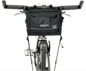 Bike front handlebar cargo bag