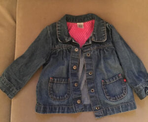 Girls jean jacket 18month