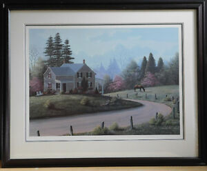 Bill Saunders Limited Edition Lithograph, signed by the artist