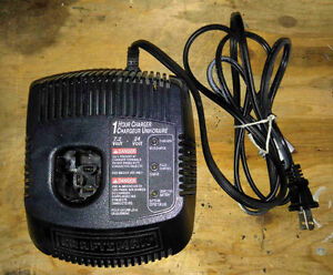 Craftsman Dual Charge Rate 7.2 - 24 Volt DC 1 Hour Fast