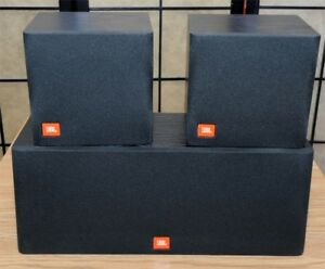 Caisses de son JBL FLIX 1 (2 surround + 1 centre)
