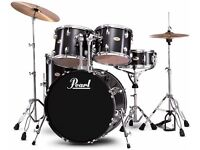 Black Pearl Forum Drum Kit; hardly used
