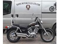 EXCELLENT 2000 YAMAHA XV535DX VIRAGO, 18874 MILES, OWNERS MANUAL