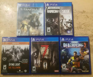 PS4 Games - $20 Each