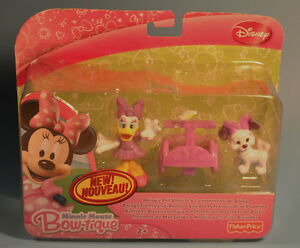 Disney Fisher Price MINNIE MOUSE Bow-Tique Daisy Pet Vehicle