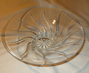 French 14 inch Crystal Bowl J.G.Durand