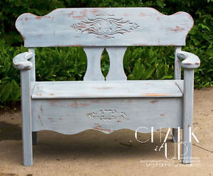 AWESOME ANTIQUE CHALK PAINTED FURNISHINGS-LONDON ON