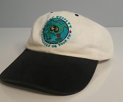 Vintage 90s Jimmy Buffett 1994 Fruitcakes on Tour Concert hat * RARE! *