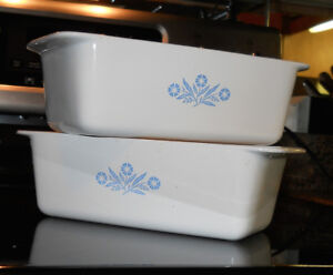 Corningware loaf pans, new condition.